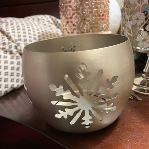 Bath & Body Works 3 wick candle holder